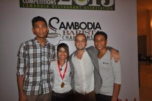 CRA Barista Champions - Kinyei Team