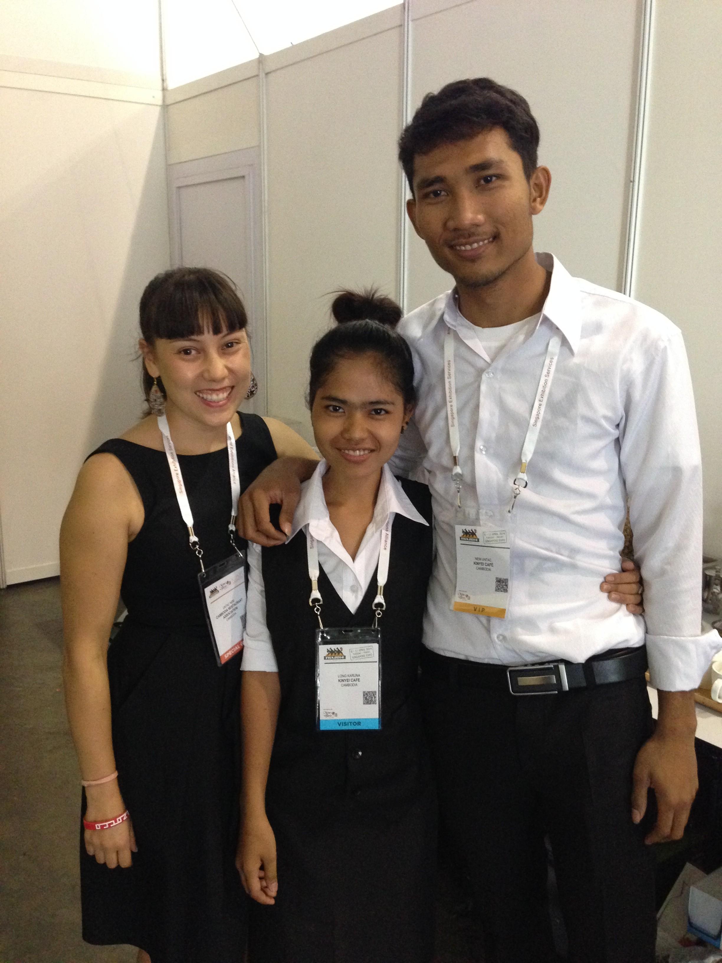 Melina, Sakana and Untac - Go team!